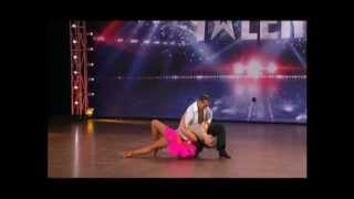 Giancarlo Masha Hot Salsa Dance New Zealands Got Talent 2012 Audition 22 09 2012