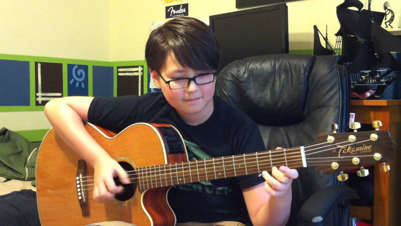 how to play closing time on guitar