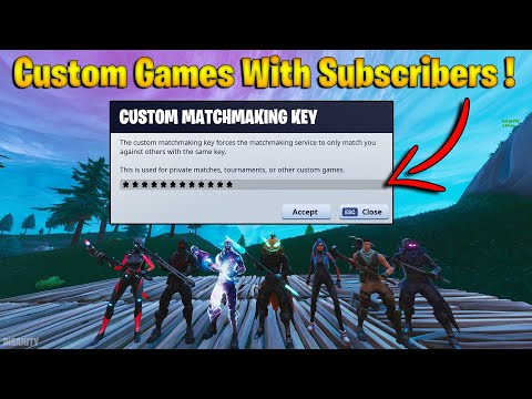 🔴 Custom Matchmaking Games - Playing Hide & Seek with Viewers! (Fortnite Livestream) thumbnail