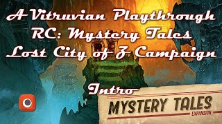 Vitruvian Playthrough: Robinson Crusoe Mystery Tales: The Lost City of Z - The Arrival Intro