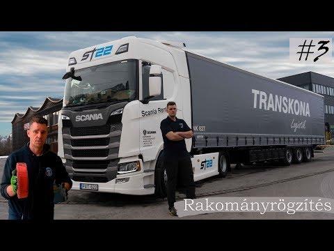 3.Kamionos betanítás- rakományrögzítés 2019