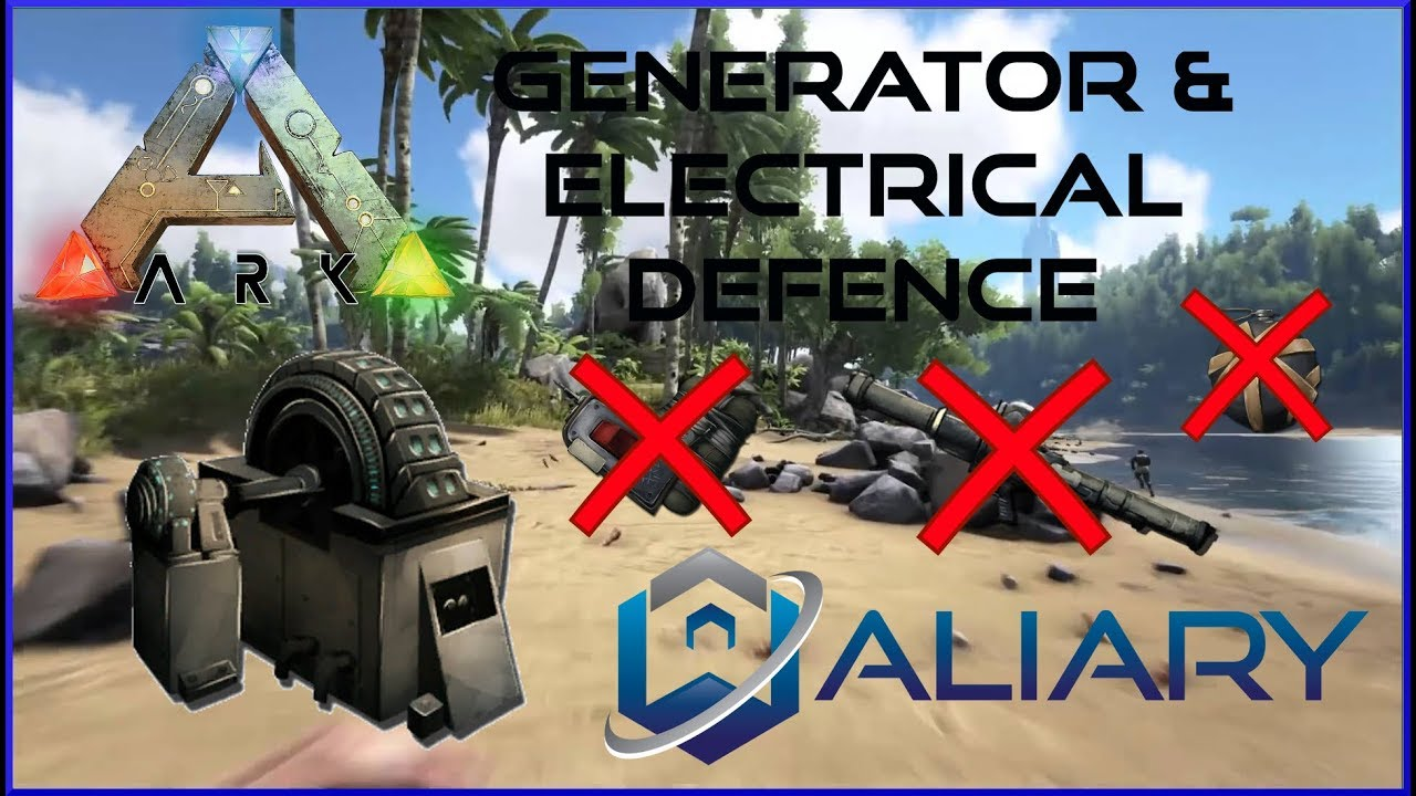 ARK Generator U0026 Electrical Defence