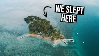 We Slept on a Private Island in FIJI