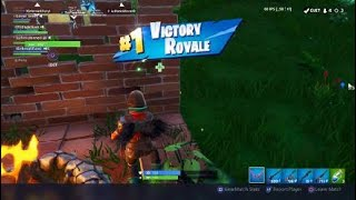 Fortnite just another squad win where I barely get to use my weapons