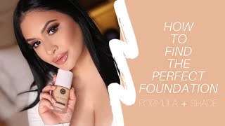 How To Find Your Perfect Foundation | RositaApplebum 2019