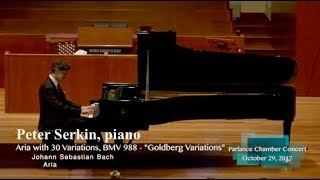 peter serkin piano bachs goldberg variations bwv 988