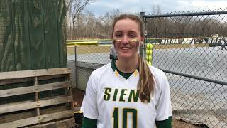 SB: Siena opens MAAC Play With doubleheader split against Iona