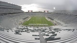 Spartan Stadium Timelapse: Michigan vs Michigan State 2018