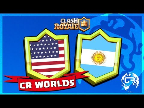 🔴 MATCH 3eme PLACE Coupe du Monde Clash Royale : USA VS ARGENTINE