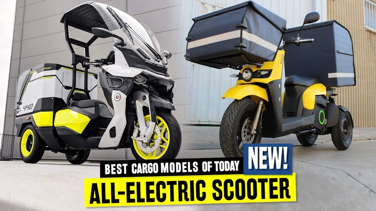 Best Electric Scooter 2020.7 New Electric Scooters For Cargo Deliveries And Convenient Shopping In 2020