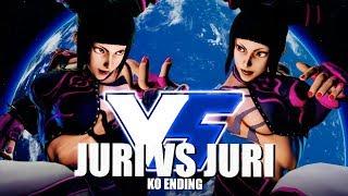 Juri VS Juri: Nostalgia VS Legacy! (KO Ending)