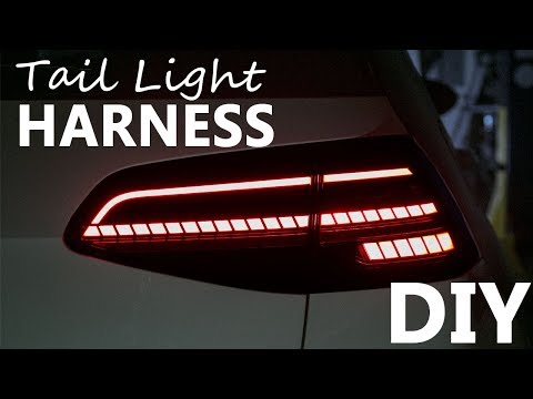 MK7.5 Facelift Dynamic LED Tail Light Adapter Harness