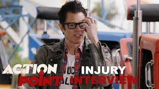 'Action Point' Johnny Knoxville Injury Interview