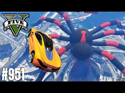 Hast du ANGST vor SPINNEN? (+Download)| GTA 5 - Custom Map Rennen