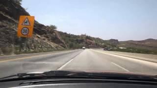 PAKISTAN MOTORWAY KALLAR KAHAR SALT RANGE ISLAMABAD TO LAHORE