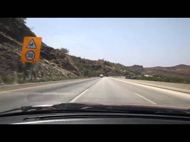 PAKISTAN MOTORWAY KALLAR KAHAR SALT RANGE ISLAMABAD TO LAHORE Travel Video