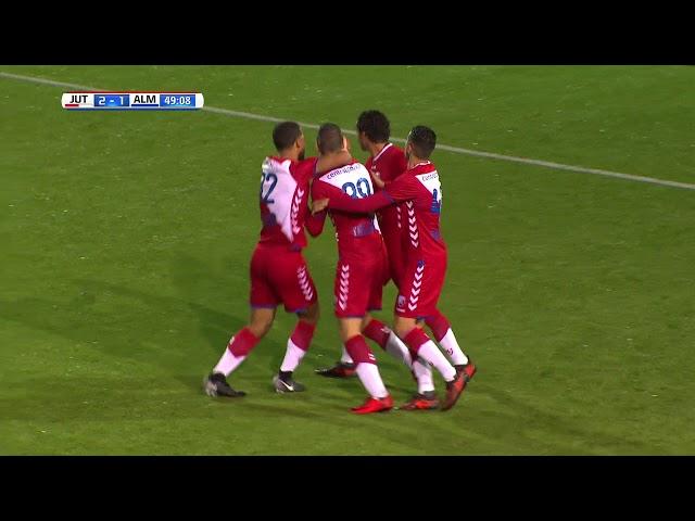 Samenvatting: Jong FC Utrecht - Almere City FC (2-4)