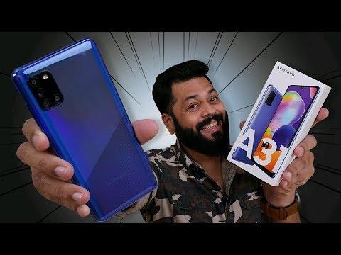 Samsung Galaxy A31 Unboxing & First Impressions ⚡⚡⚡5000mAh Battery, 48MP Quad Camera & More