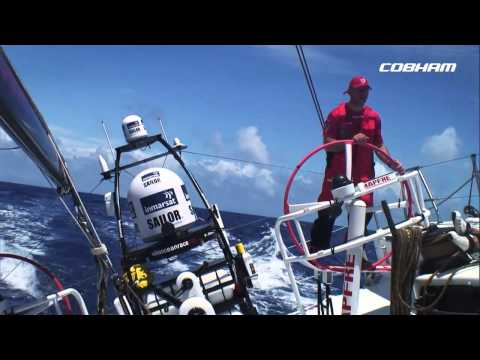 Trust, talent, technology, shared values between Cobham and the Volvo Ocean Race 1