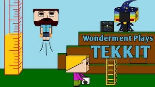 #14 Wonderment Plays Tekkit - How Do We Power The Quarry?