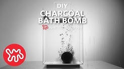 Activated Charcoal Bath Bombs | Weekend DIYs