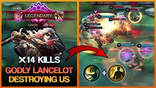 HOW TO COUNTER A FED LANCELOT WITH A TANK | Mobile Legends