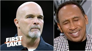 Stephen A. reacts to the Cowboys hiring Dan Quinn | First Take