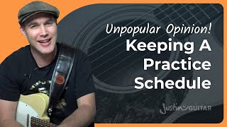 Effective Practice 3 • Keeping A Practice Schedule (Guitar Lesson PC-103)