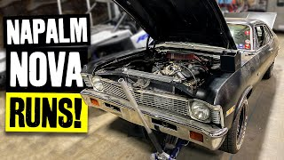 Scotto's 555 Big Block Nova Runs Again! You Won't Believe How Much Work it Took...