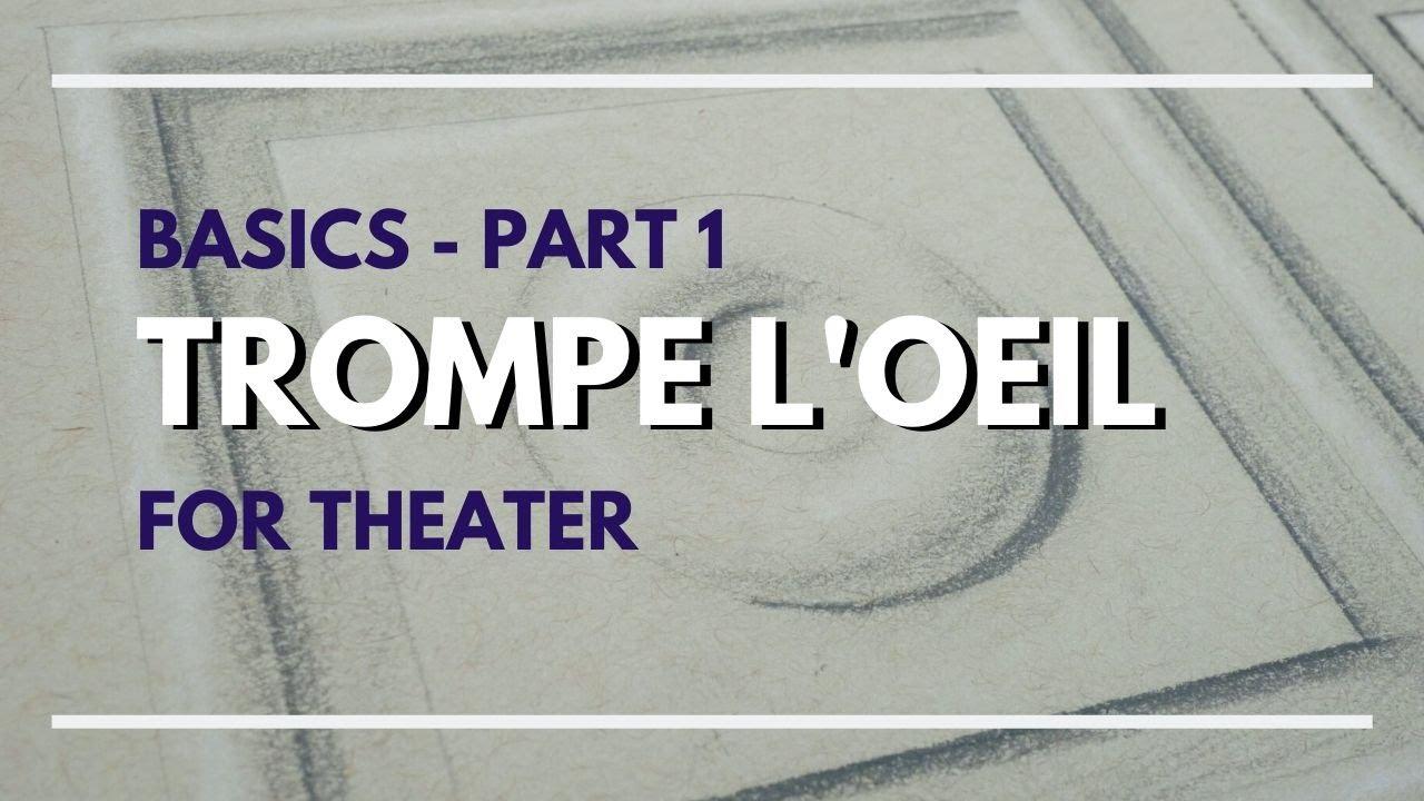 Download Trompe l'oeil Basics - Part 1 - Scenic Art