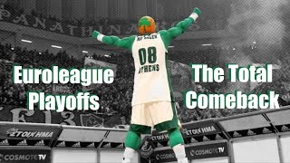Panathinaikos B.C. ⭐ The Total Comeback: Euroleague Playoffs 2018/19 ⭐ The Movie ᴴᴰ
