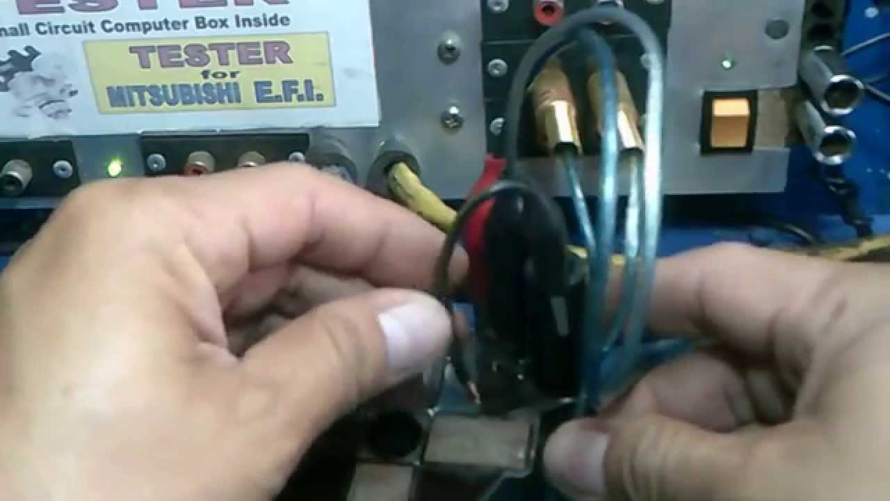how to test ignition coil lancer 12 16 valve efi [ 1280 x 720 Pixel ]