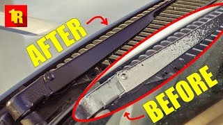 Why You Should RESTORE YOUR WIPER BLADE ARMS Immediately!