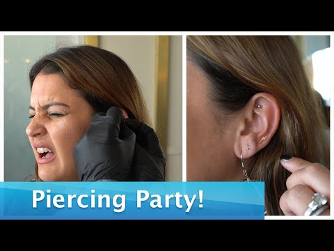 Ryan Seacrest - Go Inside a 'Piercing Party' With Sisanie & Tanya Rad: Watch