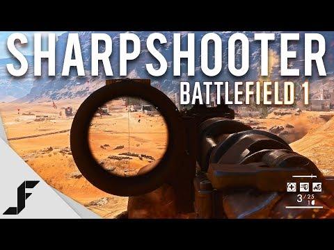 Long Range Sharpshooter - Battlefield 1