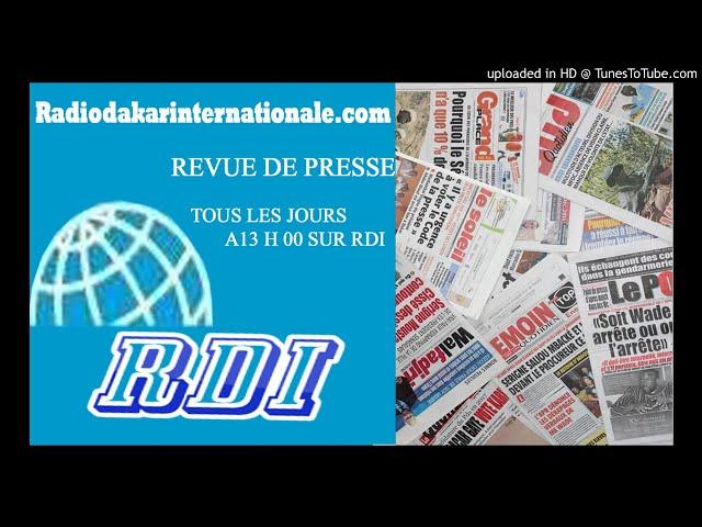 REVUE DE PRESSE WLF DU 07 05 18