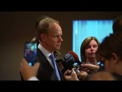 Matthew Rycroft (UK) on the situation in the Middle East - Media Stakeout (16 November 2017)