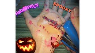 Halloween makeup Halloween scar Halloween ideas Mickey Mixes