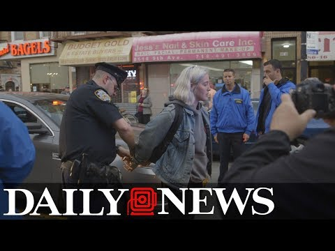 Arrests made in anti-ICE protest in Brooklyn
