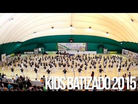 Kids Batizado 2015. The Russian Center for Capoeira