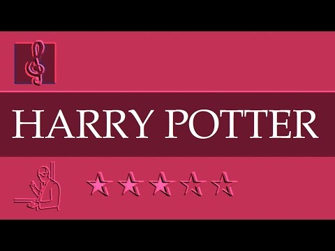 Chromatic Harmonica and Tremolo Notes Tutorial - Harry Potter - Hedwig's Theme (Sheet music)