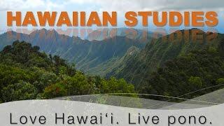 Hawaiian Studies at Leeward Community College presentation