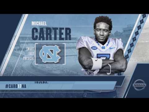 CARO17NA: Michael Carter is a Tar Heel!