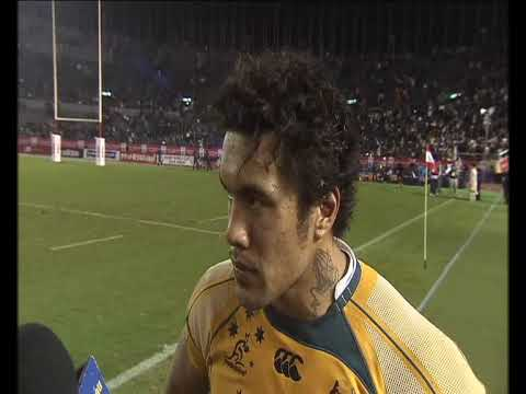 Interview with Digby Ioane after the Tokyo Bledisloe