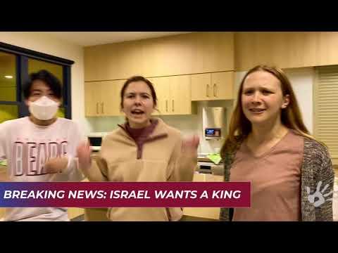 Israel Wants A King (1 Samuel 8)