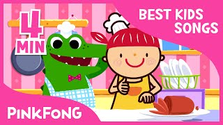 Yum Yum Food Songs | Best Kids Songs | Pinkfong Songs For Children