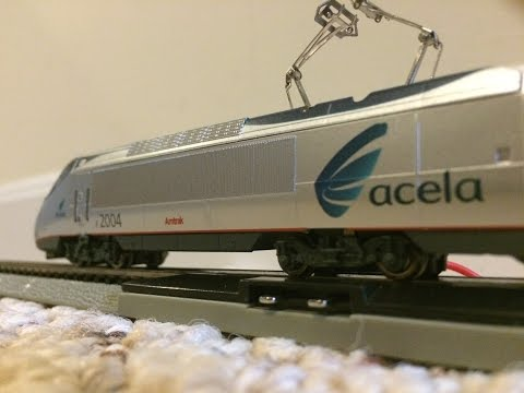 Bachmann Acela Express N Scale Train Set Quick Look