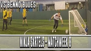 SECURING SAFETY IN THE LEAGUE?! - 5 A SIDE FOOTBALL! (MATCHDAY #8 V BENNO BLUES!)