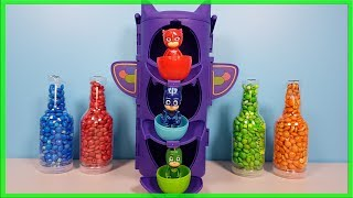 PJ Masks Surprise Toys, Learn Colors with PJ Masks  Watch Tower