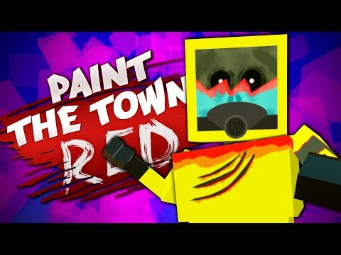 THE BIGGEST ZOMBIE IVE EVER SEEN - Best User Made Levels - Paint the Town Red